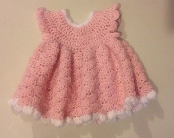 Pretty in Pink Dress 0-3mos