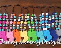 SALE! Silicone OWL Teething Babywearing Accessory (Not a Necklace) Attach to your TULA, Ergo, ring sling, Babywearing!