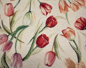 Gobelin in pieces tulips