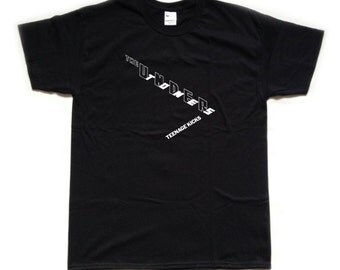 The UNDERTONES - TEENAGE KICKS screen printed T Shirt