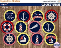 Unique nautical cupcake related items etsy for Anchor decoration runescape