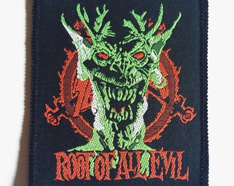 Vintage Slayer Patch 'Root of all Evil'