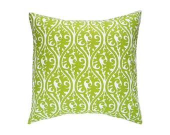 Pillow Covers.Chartreuse Green Pillows.Cushions.Throw Pillows.Decorative Pillows.Toss Pillow.Throw Pillows.Euro Sham.Any Size