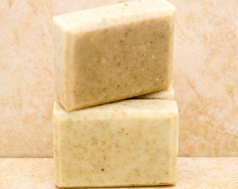 Oatmeal Facial Soap Natural Facial Bars Organic Natural Or Vegan Soap