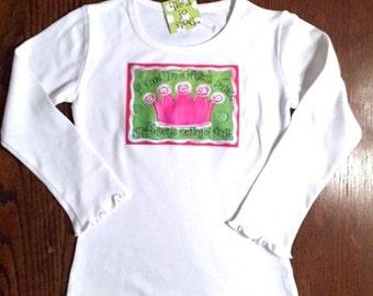 Crown Girls Shirt long sleeve