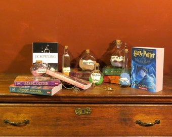 Six Harry Potter Potions Bottles For Decoration Only, Free Shipping: from GeekNSweet