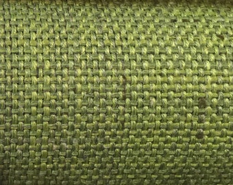 Green - Woven - Upholstery Fabric by the Yard