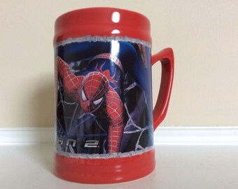 Marvel Comics Red and Blue Amazing Spider-Man Mug.