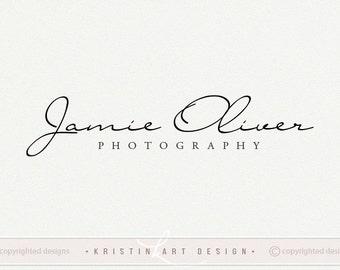 Signature logo, Black logo, Stylish logo design, Photography logo watermark 440