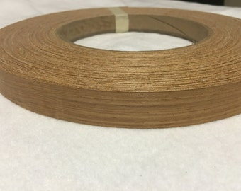 "teak preglued Wood veneer edgebanding [ 1 / 2""to 3""x250']"