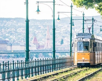 Tram No2 - Budapest Photography - Travel Photography  - Fine Art Photography - Budapest Print - Photography - Wall Art