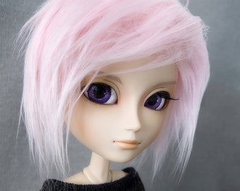 Pink Pullip, Taeyang, Isul & Dal Faux Fur Doll Wig With Gripper Elastic — Choose Your Size!