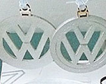 Laser Cut Flat VW Christmas Ornament Pack of 4