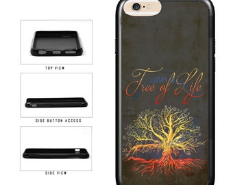 Colorful Tree of Life - iPhone 4 4s 5 5s 5c 6 6s 6 Plus 7 6s Plus iPod Touch