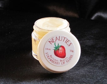 All Natural Strawberry Lip Gloss by Neauties