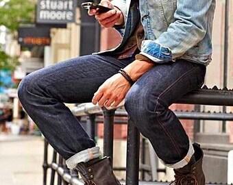 Mens quality jean jacket