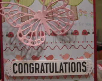 Baby Butterfly Card