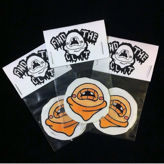 find the clit viynl stickers by monstergirlparty on etsy
