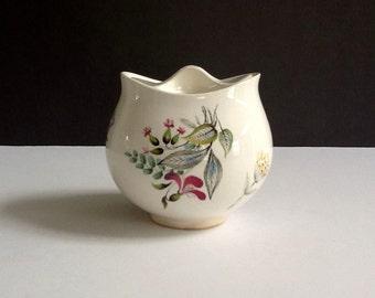 Mid Century Eva Zeisel Sugar Bowl, Bouquet Pattern, Floral Sugar Bowl, Retro Sugar Bowl