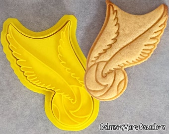 Harry Potter Quidditch Snitch Inspired Cookie Cutter