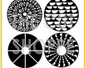 The Full Circle cut file set includes 4 circle designs, that can be used for your scrapbooking and papercrafting projects.