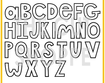The Open Letter Alpha is a hand-drawn alphabet, that can be used on your scrapbooking and papercrafting projects.