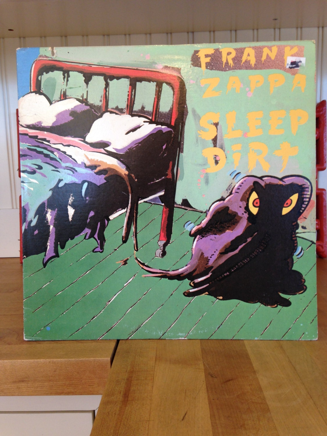 Frank Zappa Sleep Dirt Record Dsk 2292 Nice Clean Copy