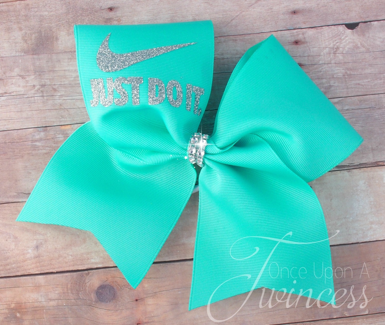 Cheer Bow Aqua Cheer Bow Cheerleading Bows Dance Bow