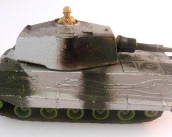 Vintage Die Cast Matchbox Lesney Battle kings K-104 Tiger Tank