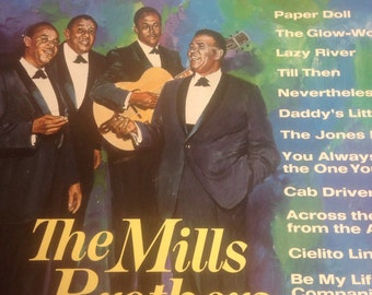 The Mills Brothers - 6 Record Set -Memories - Nice and Easy