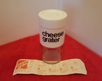 Vintage gemco ware cheese grater, parmesan cheese grater