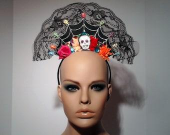 Dia de los Muertos / Day of the Dead Headpiece