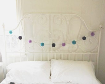 Handmade Yarn Pom Pom Garlands - MADE TO ORDER