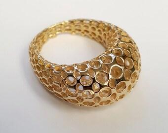 Bubble Geometric Ring