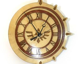 Legend of Zelda Crescent Clock