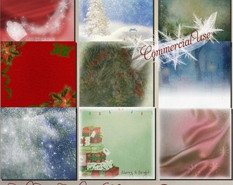 Commercial Use Christmas Papers
