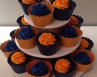 Solid Color Cupcake Wrappers **ANY COLOR AVAILABLE**