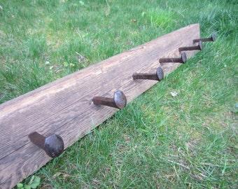 Coat rack, barn wood, barnwood shelf, barnwood rack, barnwood home decor, rustic home decor, rustic shelf, rustic rack, country home decor