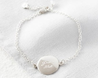 Personalised Engraved Silver Bracelet,  name bracelet, engraved bracelet, 21st gift, Personalized Bracelet, custom engraved bracelet