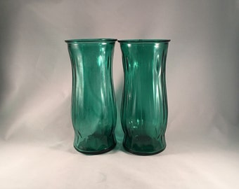 E.O. Brody Vases | Teal | Matching Set of Two