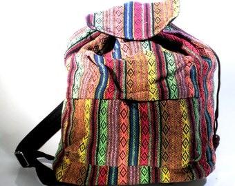 Backpack, cotton, Ethno  - 6016
