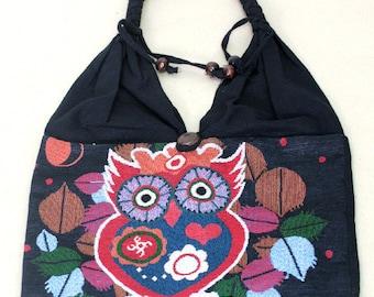 Shopping bag - owl - 4089