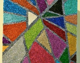 Shards of Color Canvas
