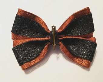 Girl on Fire Hunger Games inspired hair bow