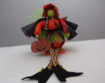 Halloween whimsical witch