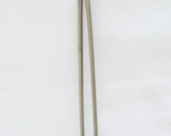 Vintage Japanese Silver KANZASHI traditional hairpin