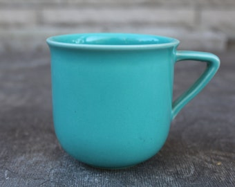 Scandinavian Vintage Höganäs Keramik Mug Swedish Vintage Light Blue Stoneware Cup, Blyfritt Stengods Sverige, Scandinavian Design