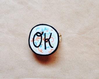 OK pin