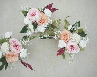 Wedding Centerpiece, Table Centerpiece, Wedding Flowers, Silk Flower Arrangement, Silk Flower Centerpiece, Silk Flower Arrangement, Flowers