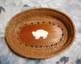 "Pine Needle Basket ""Tatonka"""